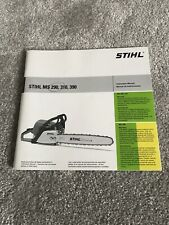Stihl MS290,310,390 User Manual