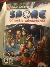 Spore: Galactic Adventures Expansion Pack (2009) Complete PC Game/LN!