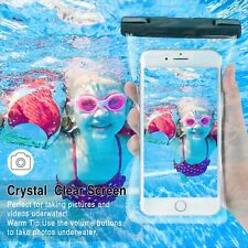 Waterproof Phone Pouch Underwater Case Dry Pounch Compatible Face ID All Phones