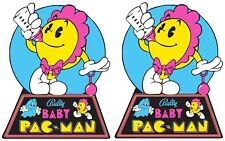 Baby Pacman Arcade cabinet decals