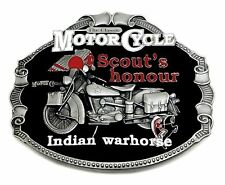 INDIAN Fibbia della Cintura Cavallo CLASSIC MOTO autentica Officially Licensed