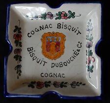 """B'/ Coupelle """"Cognac BISQUIT DUBOUCHÉ"""" faïence ALFRED RENOLEAU (Angoulême)"""