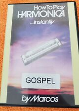 How to Play Harmonica .Instantly by Marcos - Gospel(Dvd)