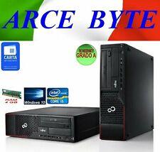 PC DESKTOP FUJITSU ESPRIMO E710 CORE i5-3470 3.2GHZ RAM 4GB HD 250GB WINDOWS 10