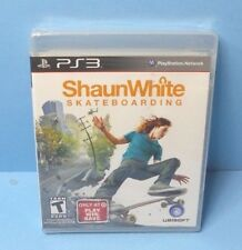 Shaun White Skateboarding (PlayStation 3) BRAND NEW FACTORY SEALED