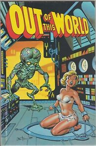 Out of This World #1 1989 ETERNITY COMICS Bruce Timm First Print VF/NM