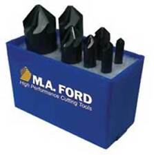 7 Pcs Ma Ford 90 Deg Series 64 Uniflute 1 Flt Countersinks Set