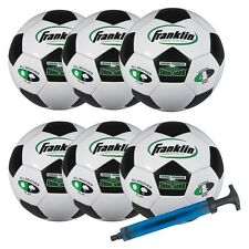 Franklin Competition 100 6pk Soccerballs with Pump Size 4
