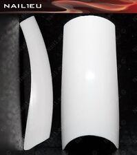 500 x French Nagel Tips weiß Gr.0-9/ Kunstnägel Künstliche Nägel Fingernägel