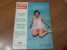 CINEMA NUOVO n.103 del 1957