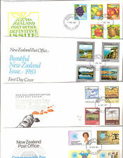 New Zealand 1983 FDC 7 Covers Fine used NZ FREE POST cat $26