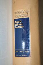 CAT CATERPILLAR 966D SERVICE SHOP REPAIR MANUAL WHEEL LOADER 35S 94X 99Y Used