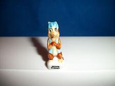 MEPPS ALLEY CAT RESCUE RANGERS Mini Figurine Porcelain FEVES CHIP & DALE Disney