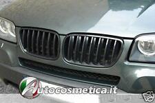 GRIGLIA CALANDRA BMW X3  griglie NERA calandra MASCHERINA RENI 2007 AL 2010.