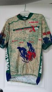 Pearl Izumi, Cycle Oregon X, Short Sleeve Jersey, Size XXL, 3/4 Zipper