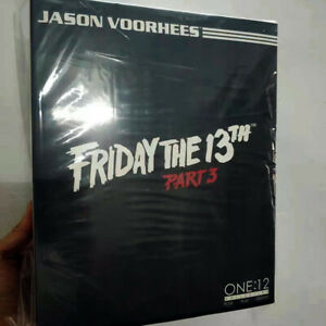 """Mezco One 12 Friday the 13th Part 3 Jason Voorhees 6"""" Clothed Action Figure Offi"""
