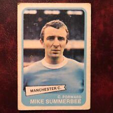 1968/69 A&BC Footballer Set MIKE SUMMERBEE #19 MANCHESTER CITY - VG/VG-EX