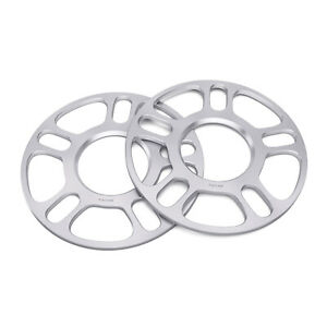 "3mm (1/8"") Hubcentric Race Wheel Spacers 5x4.5 & 5x4.75 for Ford Chevy Pontiac"