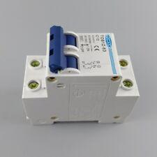 UK STOCK 2P 40A DC 600V Circuit breaker MCB C curve PV Solar Fuse C40