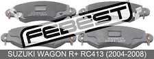 Pad Kit, Disc Brake, Front For Suzuki Wagon R+ Rc413 (2004-2008)