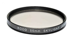 High Quality Kood 55mm Glass SKYLIGHT 1A Filter Made in Japan Protection filter