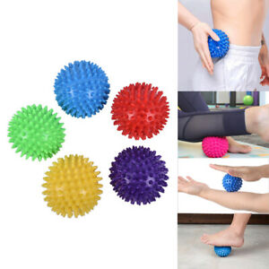 7CM Yoga Massage Ball Spikey Gym Balls Spiky Trigger Point Stress ReliefB_yk