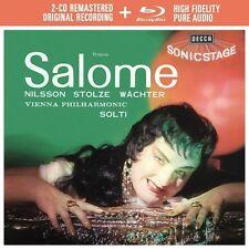 SALOME - NILSSON,BIRGIT/RESNIK/COLLIER/SOLTI/WP  2 CD+BLU-RAY NEU