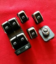 NEU AUDI A4 8K A5 Q5 S-Line Fensterheber Schalter Chrom Alu EFH S4 S5 SQ5