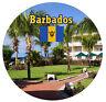 Barbades - Drapeau / Sites - Rond Souvenir Réfrigérateur Aimant - Cadeaux - Tout