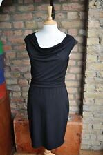 Esprit Size M cowl neck sleeveless classic fitted little black dress