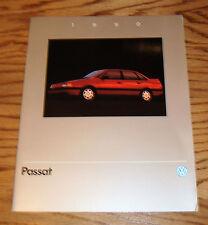 Original 1990 Volkswagen VW Passat Sales Brochure 90
