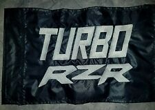 Custom Turbo RZR Safety Flag for jeep UTV ATV Trike whip pole