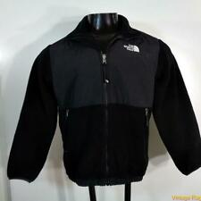 The North Face Polyester/Nylon Fleece Jacket Boys Size L black zippered