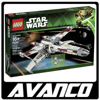 LEGO Star Wars Red Five X-wing Starfighter Skywalker 10240 NEW SEALED RETIRED