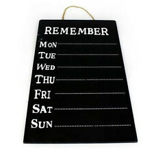 WEEKLY MESSAGE CHALK BOARD PLANNER MEMO HANGING KITCHEN OFFICE HOME NEW REMINDER