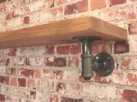 RECLAIMED Scaffold Boards - Rustic Shelves Any Size - Industrial Scaffold Shelf