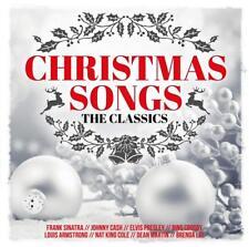 CHRISTMAS SONGS-THE CLASSICS: FRANK SINATRA,LOUIS ARMSTRONG,DORIS DAY  2 CD NEUF