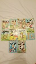 MY FIRST CHILDREN'S BOOKS LOT OF 10 EUC