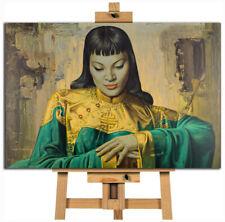 Lady Of The Orient  Vladimir Tretchikoff canvas wall art print