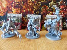 Zombicide: Green Horde: Swamp Lurker, Vault Warden, Horde Brother Kickstarter