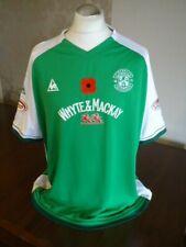 More details for hibernian original 2008 le coq sportif poppy home shirt sleeve patches xxl hibs