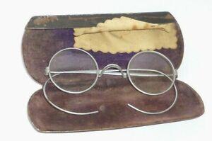 Old Monocle Glasses Arztbrille Doktorbrille Doctor Maskenbrille? Military?