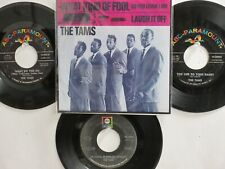 LOT OF 4 'THE TAMS' HIT 45's+1P(Copy)[WHAT KIND OF FOOL Do You Think I Am] 60's!