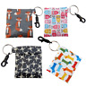 Coin pouch Key Ring Clip bag waterproof change keeper earphone wallet case