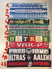 Ultras Seidenschal SK Rapid Wien,SC Paderborn 07 ,VfR Aalen ,Sportfreunde Siegen
