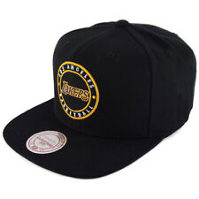 Mitchell & Ness Snapback Circle Patch Los Angeles Lakers black