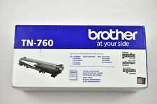 Brother Genuine TN760 Black High Yield Toner Cartridge HL-L2350DW/MFC-L2710DW