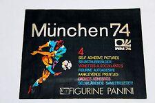 RARE SELTEN: Panini WM WC MÜNCHEN MUNICH 74 1974 – 1 x TÜTE PACKET BUSTINA