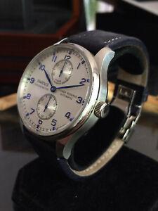 mechanische Automatik Uhr Luxus Hommage Seagull ST 25 Werk Parnis Classic 42mm
