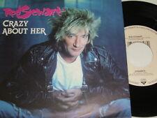"7"" - Rod Stewart Crazy about her & Dynamite - 1988 MINT # 3633"
